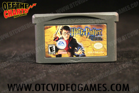 Harry Potter and the Chamber of Secrets Game Boy Advance Game Off the Charts