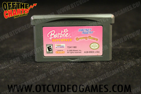 Barbie Superpack Secret Agent Groovy Games Game Boy Advance Game Off the Charts