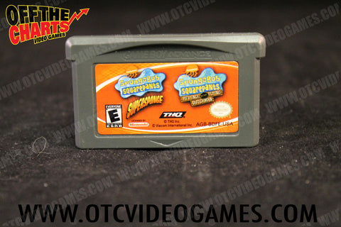 Spongebob Squarepants Revenge of the Flying Dutchman Game Boy Advance Game Off the Charts