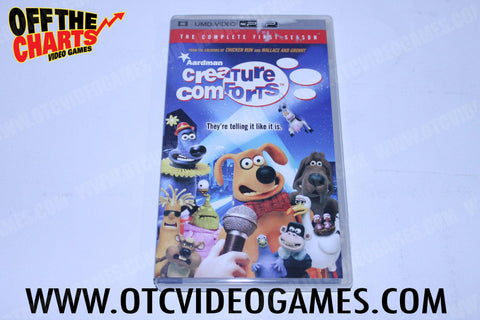 Ardmans Creature Comforts - Off the Charts Video Games
