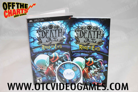 Death Jr. II Root of Evil PSP Game Off the Charts