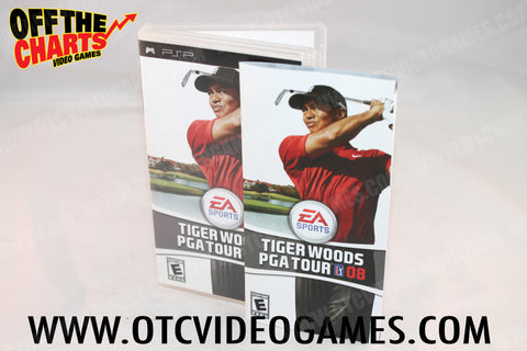 Tiger Woods PGA Tour 08 - Off the Charts Video Games