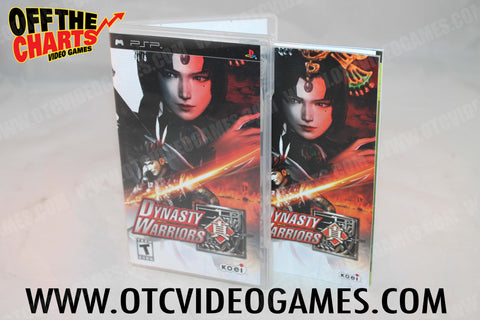 Dynasty Warriors PSP Game Off the Charts