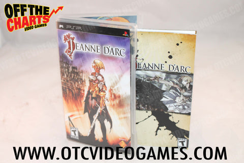 Jeanne D'arc - Off the Charts Video Games