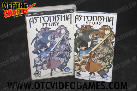 Astonishia Story PSP Game Off the Charts