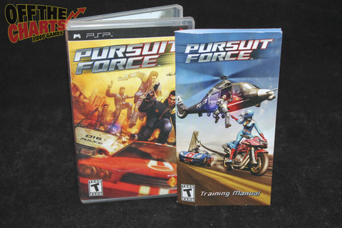 Pursuit Force PSP Game Off the Charts