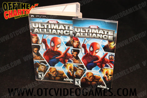 Marvel Ultimate Alliance PSP Game Off the Charts