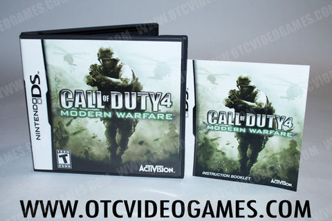 Call Of Duty 4 Modern Warfare Nintendo DS Game Off the Charts