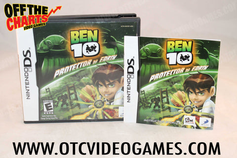 Ben 10 Protector of Earth Nintendo DS Game Off the Charts