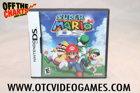 Super Mario 64 DS - Off the Charts Video Games
