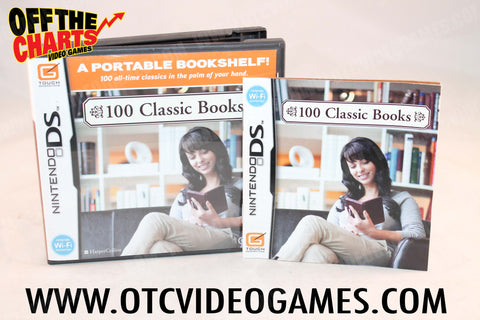 100 Classic Books - Off the Charts Video Games