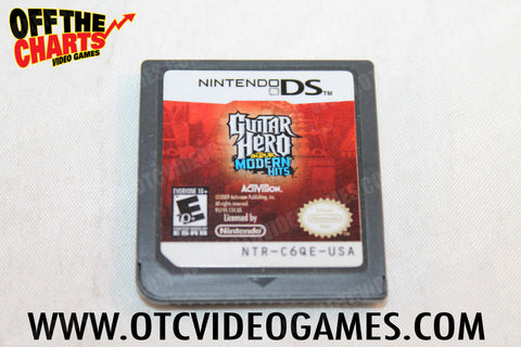 Guitar Hero On Tour Modern Hits Nintendo DS Game Off the Charts