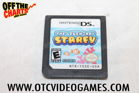 The Legendary Starfy Nintendo DS Game Off the Charts
