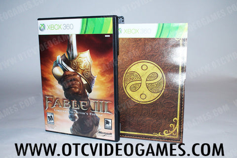 Fable III Limited Collectors Edition - Off the Charts Video Games