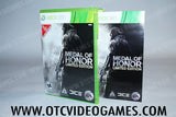 Medal of Honor Limited Edition Xbox 360 Game Off the Charts