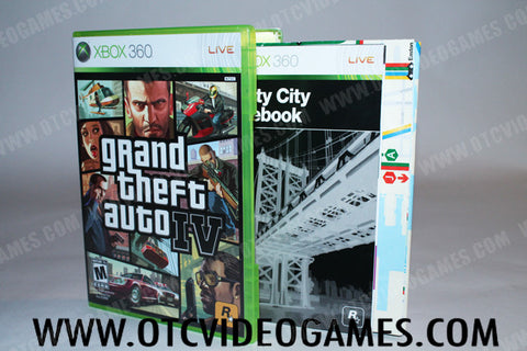 Grand Theft Auto IV Xbox 360 Game Off the Charts
