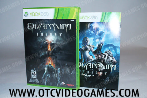 Quantum Theory Xbox 360 Game Off the Charts