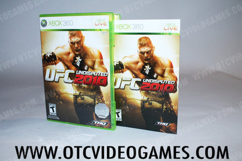 UFC Undisputed 2010 - Off the Charts Video Games