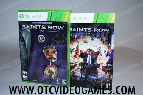 Saints Row IV Commander In Chief Edition Xbox 360 Game Off the Charts