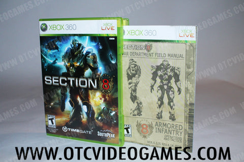 Section 8 - Off the Charts Video Games