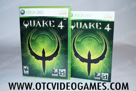 Quake 4 Xbox 360 Game Off the Charts