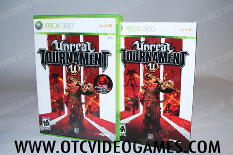 Unreal Tournament III Xbox 360 Game Off the Charts
