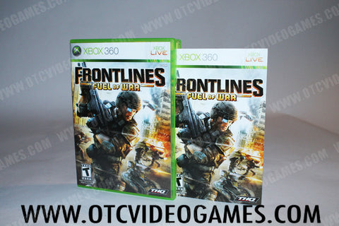 Frontlines Fuel Of War Xbox 360 Game Off the Charts