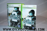 Ghost Recon 2 Advanced Warfighter Xbox 360 Game Off the Charts