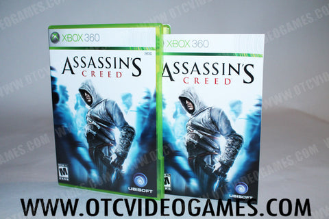 Assassins Creed Xbox 360 Game Off the Charts
