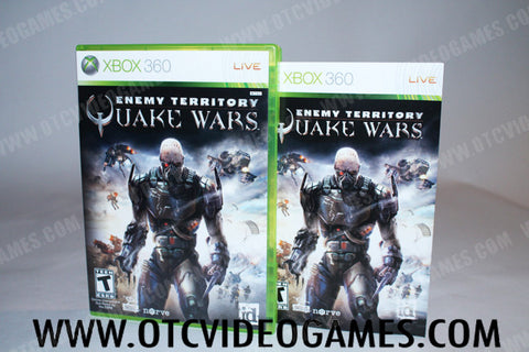 Enemy Territory Quake Wars - Off the Charts Video Games