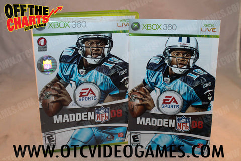Madden 08 - Off the Charts Video Games