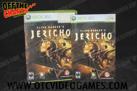 Clive Barker's Jericho Xbox 360 Game Off the Charts