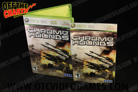 Chrome Hounds Xbox 360 Game Off the Charts