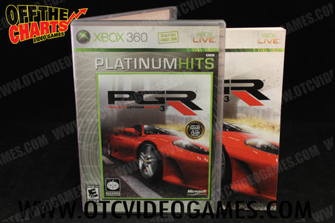 Project Gotham Racing 3 - Off the Charts Video Games