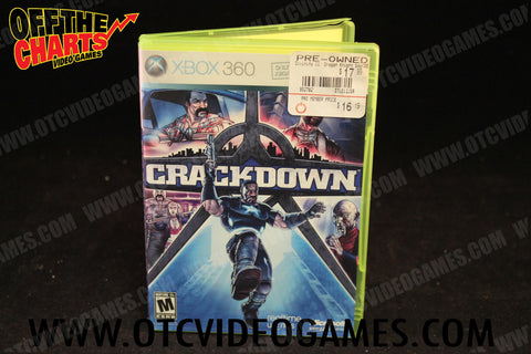 Crackdown - Off the Charts Video Games