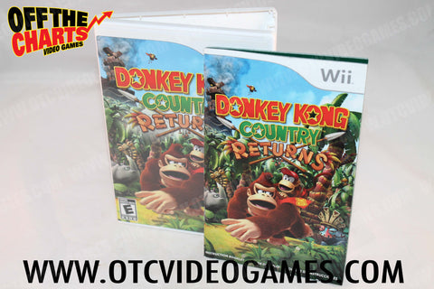 Donkey Kong Country Returns Wii Game Off the Charts
