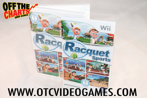 Racquet Sports Wii Game Off the Charts