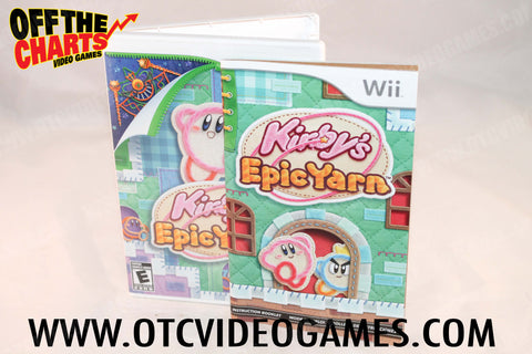 Kirby's Epic Yarn - Off the Charts Video Games