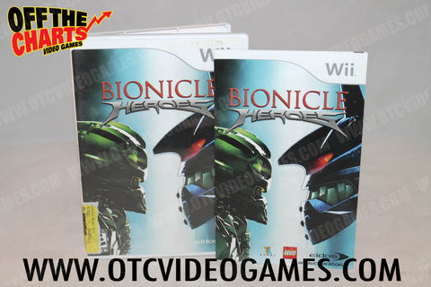 Bionicle Heroes Wii Game Off the Charts