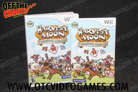 Harvest Moon: Magical Melody Nintendo Gamecube Game Off the Charts