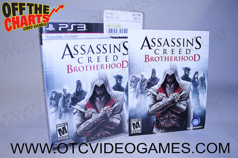 Assassins Creed Brotherhood - Off the Charts Video Games