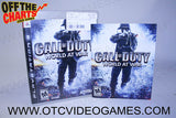 Call Of Duty World At War Playstation 3 Game Off the Charts