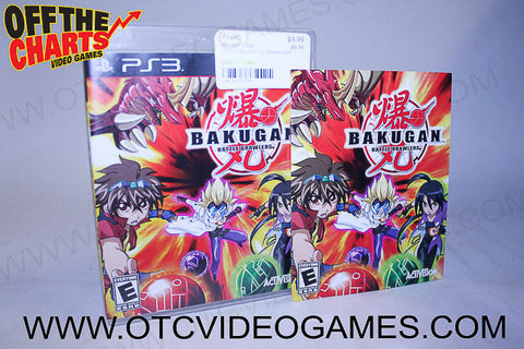 Bakugan Battle Brawlers - Off the Charts Video Games