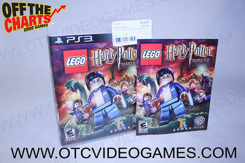 Lego Harry Potter Years 5-7 Playstation 3 Game Off the Charts