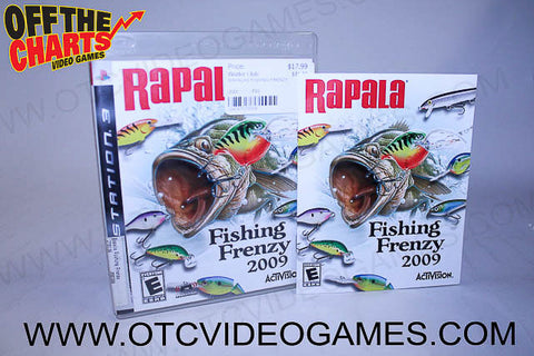 Rapala Fishing Frenzy 2009 - Off the Charts Video Games