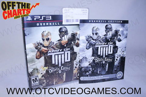 Army Of Two The Devils Cartel - Off the Charts Video Games