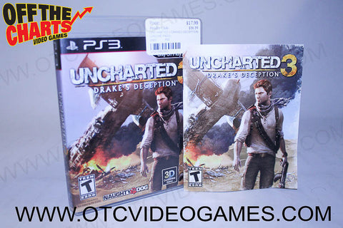 Uncharted 3 Drakes Deception - Off the Charts Video Games