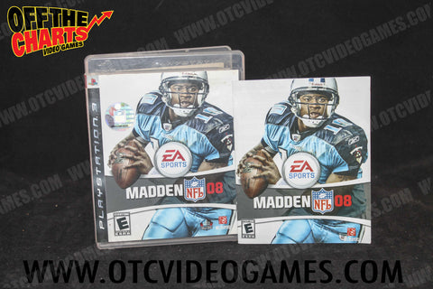 Madden '08 - Off the Charts Video Games