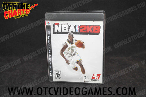 NBA 2K8 - Off the Charts Video Games