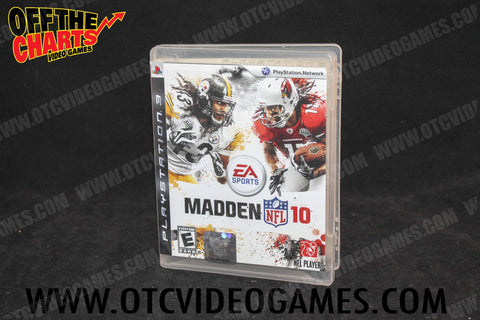 Madden 10 - Off the Charts Video Games
